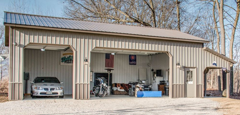 Spacious Garage for all your Toys