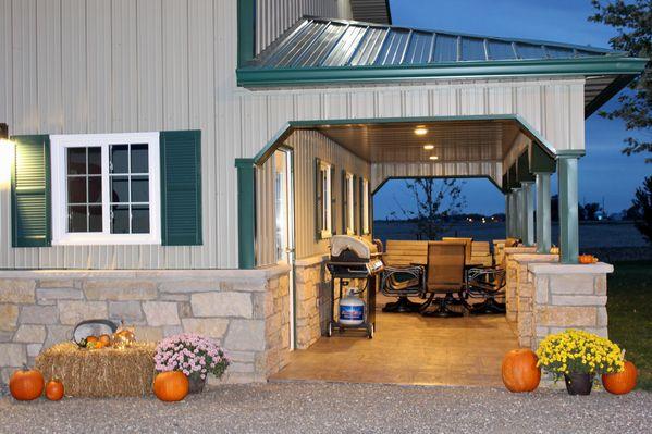 Post Frame Buildings For Suburban Properties Blunier